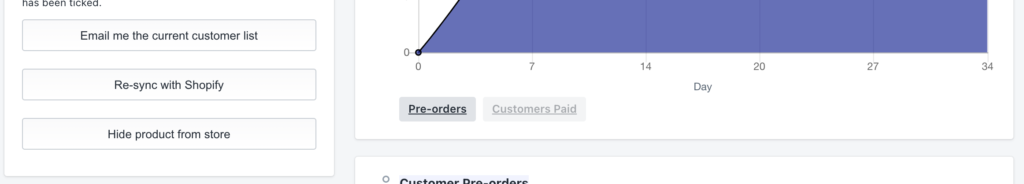re-sync with Shopify after updating product details